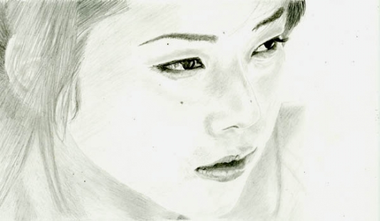 Miho Yoshioka by Shige